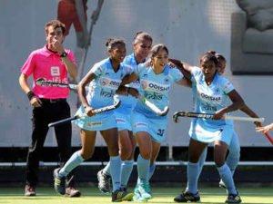 India Junior Women's Hockey v/s New Zealand