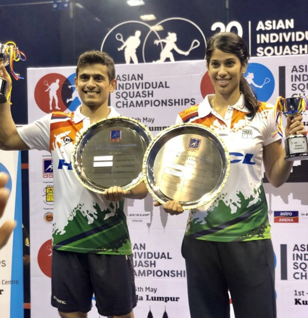 squash-chinappa-ghosal- asian team championship