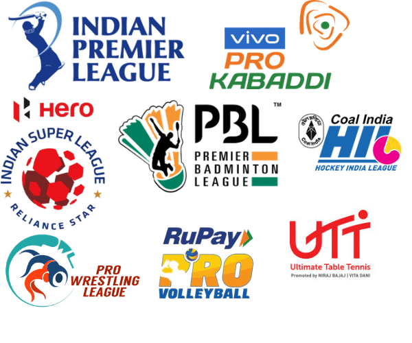 Franchise based sporting leagues in India