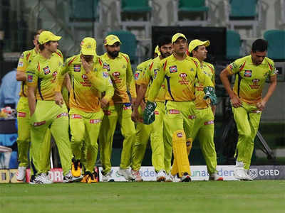 chennai-super-kings out of IPL 2020 playoffs