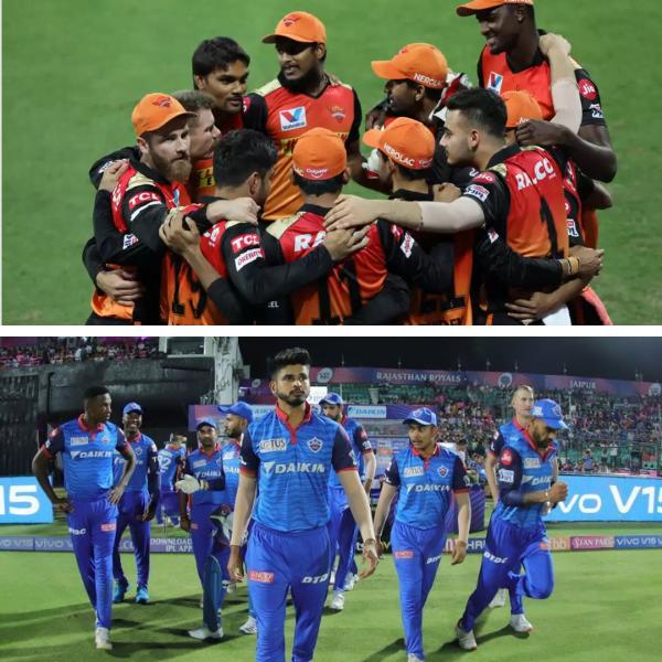 Sunrisers v/s Delhi Capitals IPL 2020 Qualifier